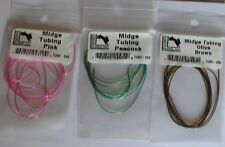Hareline Midge Tubing hollow vinyl tube to wrap or detached fly tying