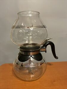 1940s Vtg 1950s Silex Better Homes 8 Cup Glass Vacuum Coffee Pot Maker Complete