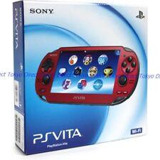 NEW PlayStationVita Wi-Fi model Cosmic Red (PCH-1000 ZA03) Japan F/S