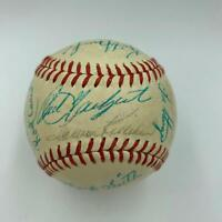 1968 All Star Game Team Signed Baseball Carl Yastrzemski 24 Sigs Beckett COA