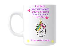 Personalised Best Teacher Mug Thank You Teachers Leaving Gift