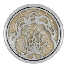 """4 Get 5Th $6.95 Snap Free Ginger Snapsâ""""¢ Painted Design-Sparkly Gray Sn09-72 Buy"""