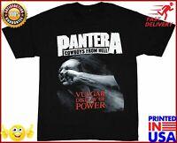 Bravado Pantera Stronger Than All Metal T Shirt Pantera Heavy Metal Black Tshirt