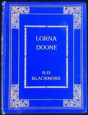 Lorna Doone Blackmore Vintage Gilt Tipped In Plates Sampson Low Large Book