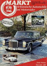 Markt 1/86 1986 Borsig FN Horex Regina Mars Victoria Spatz Toyota MR2 PV 544 444