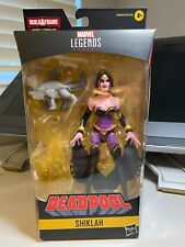 Marvel Legends Shiklah Deadpool 2020 wave no BAF