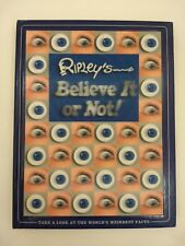 Ripley's Believe It or Not Big 256 Page Coffee Table Book Worlds Weirdest Facts
