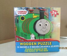 Thomas The Train Wooden Puzzle 24 Piece Tank Engine Friends Wood Jigsaw