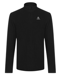 Odlo Bernina Men's Fleece Sweater Ski Jumper Black Size XL Or XXL New