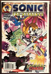 SONIC The HEDGEHOG Comic Book #255 January 2014 COUNTDOWN TO CHAOS Pt 3 Bag MINT