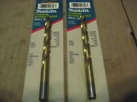 MAKITA 711386-A 11/32 TIN-COATED DRILL BITS (AA4848-10)