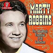 MARTY ROBBINS ABSOLUTELY ESSENTIAL REMASTERED 3 CD DIGIPAK NEW