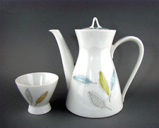 Rosenthal Kanne Zuckerschale Design Richard Latham / Raymond Loewy Tea Set 1954