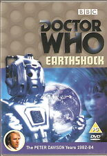 DOCTOR WHO - EARTHSHOCK. Peter Davison. BBCTV 1982 (DVD 2003)