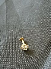 Indian  nose stud with diamonds