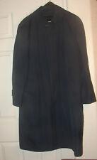 Men's London Fog Long Trench Coat Zip Out Liner Size 42