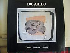 GISELDA LUCATELLO  RETROSPETTIVA  1986    COMUNE DI VENEZIA