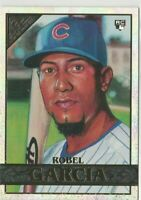 2020 Topps Gallery Robel Garcia Rainbow Foil Chicago Cubs
