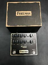 Friedman BE-OD Deluxe 2 Channel Overdrive Distortion Pedal New!
