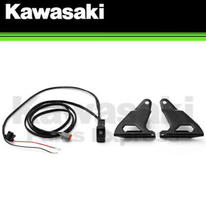 "NEW 2020-2021 OEM KAWASAKI TERYX KRX 1000 38"" K-GLOW LIGHT BAR INSTALLATION KIT"