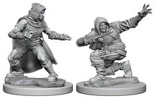 D&D Paizo Deep Cuts Miniatures Human male Rogue (2)