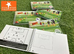 PERSONALISED Football / Soccer training coaching drill match session planner