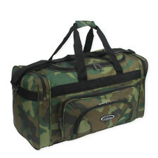 Camouflage High Quality Lightweight Holdall Duffle Cargo Travel Cabin Gym Bag