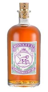 Monkey 47 159,98€/l Barrel Cut Schwarzwald Dry Gin Geschenkkarton 47% 0,5 Liter