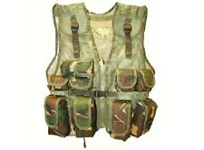 BOYS ARMY ACTION VEST Military camouflage combat assault jacket multi-cam camo