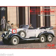 ICM 1/35 35531 G4 (1939 Production), German Car with Passengers Model Kit