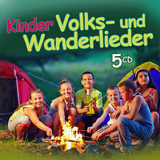 CD KINDER VOLKS ET CHANSONS DE MARCHE DE DIVERS INTERPRÈTES 5cds