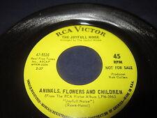 "The Joyfull Noise""Animals,Flowers,And Children""/45/"