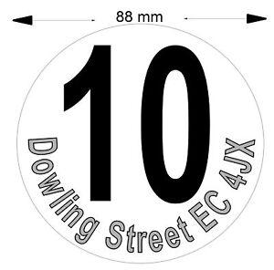 3 Personalised Poly Stickers for Wheelie Bin Waterproof