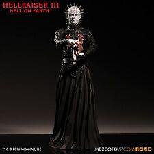 "Mezco Toyz Hellraiser III 3 Pinhead 12"" Figure Hell on Earth New Sealed"