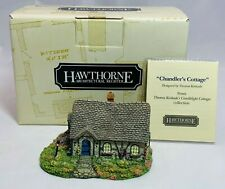 Hawthorne Village Thomas Kinkade Sculpture Chandler's Cottage Vintage Coa 78152