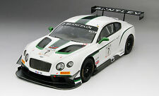 True Scale Bentley GT3 #7 Blancpain GT Silverstone Winner 2014 1/18