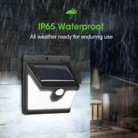 40 LED Waterproof Solar Power PIR Motion Sensor Wall Light Garden Lamp