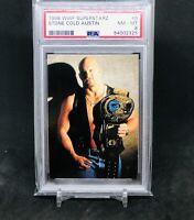 1998 WWF Superstarz Comic Images #6 Stone Cold Steve Austin PSA 8 Rookie WWE WCW