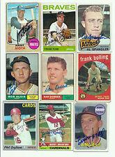 Signed 1964 Topps Frank Funk #289 Braves Indians
