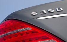 PLAKETTE Emblem Logo Schriftzug für Mercedes S350 S 350  S-Klasse AMG Logo 55 63