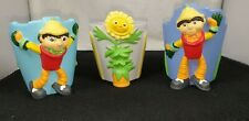 More details for vintage rare bbc tv bill and ben the flower pot man and weed mini plant pots vgc