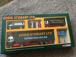 CORGI SCALE MODEL EDDIE STOBART EXPRESS ROAD HAULAGE COLLECTORS SET NEW IN BOX