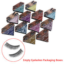 Empty False Eyelash Packaging Storage Case Box Container Holder Tool With Tray