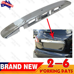 Tailgate Handle Garnish Cover Chrome With Camera hole For Nissan Dualis J10 NEW