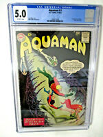 Aquaman #11 (1962) CGC 5.0 1st appearance Mera DC KEY Silver-Age  - MOVIES!