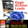EAGLE 10.5mm Ignition Spark Plug Leads SB Chev 327 350 HEI Under Exhaust