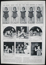 DIONNE QUINTUPLETS CANADIAN QUINS CANADA 1pp ARTICLE 1939