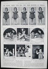 DIONNE QUINTUPLETS CANADIAN QUINS CANADA 1pp ARTICLE 1939