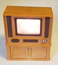 Sylvanian Families Light up TV SET Console  Epoch Calico Critters Dollhouse Mini
