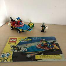 Lego SpongeBob 3815 Heroic Heroes of The Deep 100% Complete
